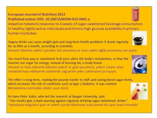 Şekerli ve gazlı içeceklerin bilimsel olarak kanıtlanmış zararları