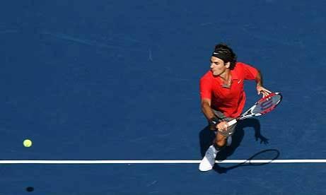 federer tennis moves