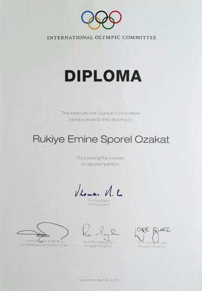IOC diploma