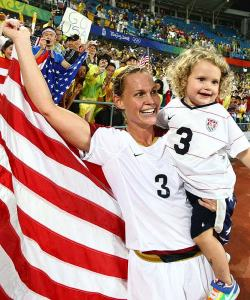 Christie-Rampone-Holding-American-Flag